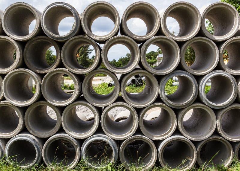 Tubos de desagüe imagen de archivo