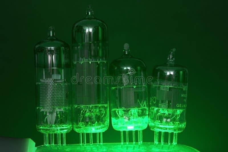 Tubos de elétrons foto de stock royalty free