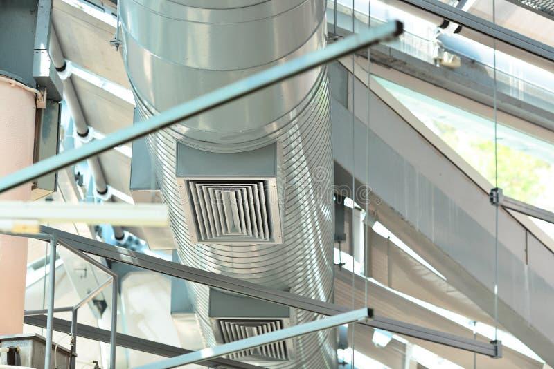 Tubos de la ventilación imagen de archivo libre de regalías