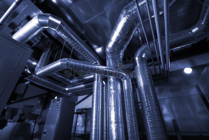 Tubos de la ventilación de una condición del aire