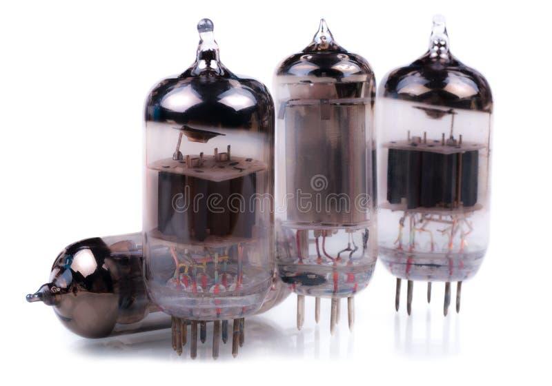 Tubos de rádio do vácuo imagem de stock