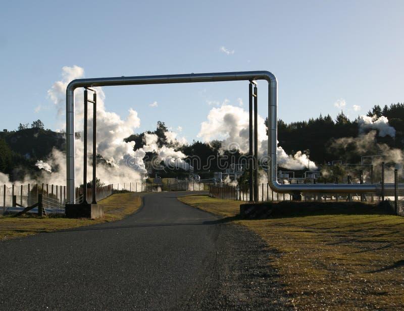 Tubos de vapor 3 fotos de archivo