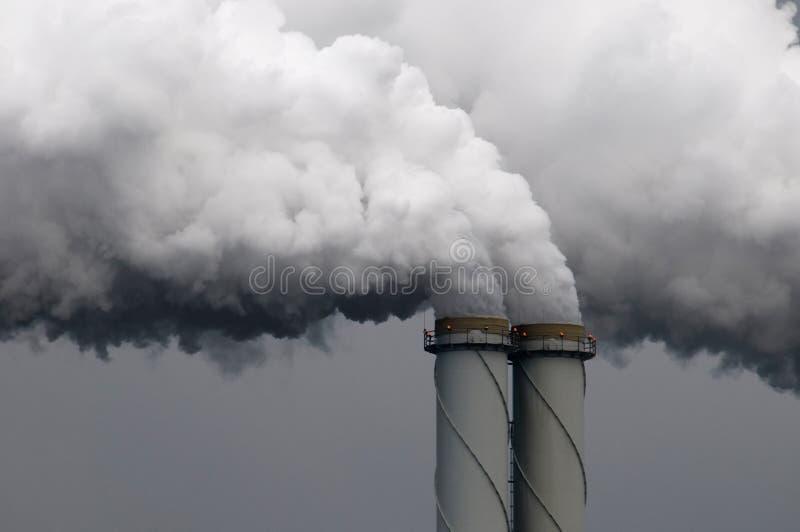 Tubos del humo fotos de archivo