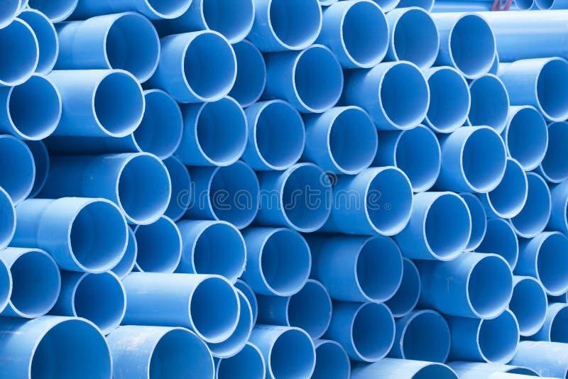 Tubos del PVC imágenes de archivo libres de regalías