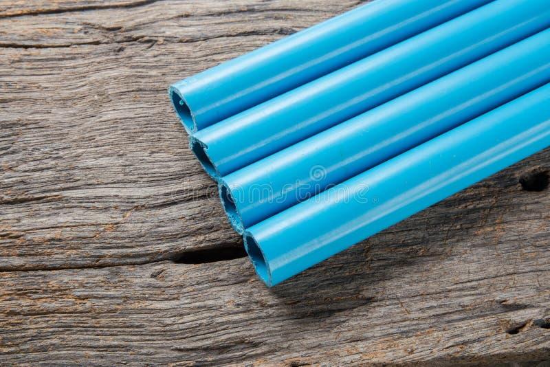 Tubos del PVC foto de archivo libre de regalías