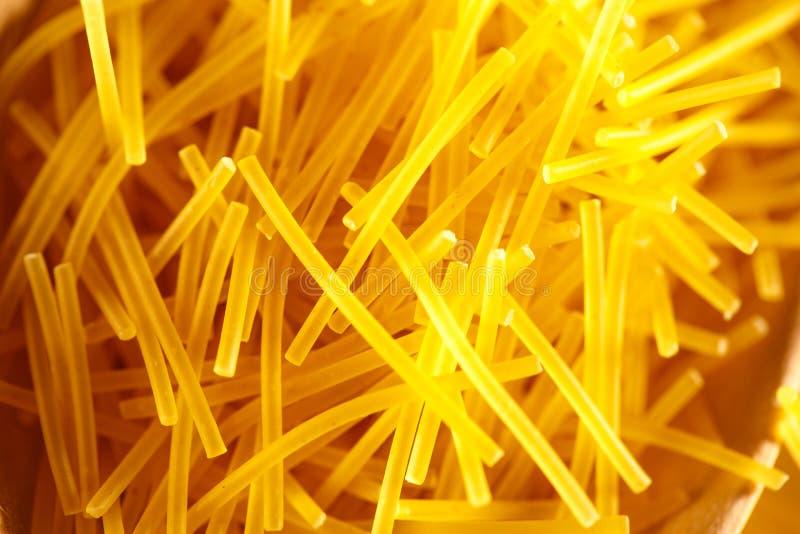 Tubos finos cortos de las pastas imagen de archivo libre de regalías