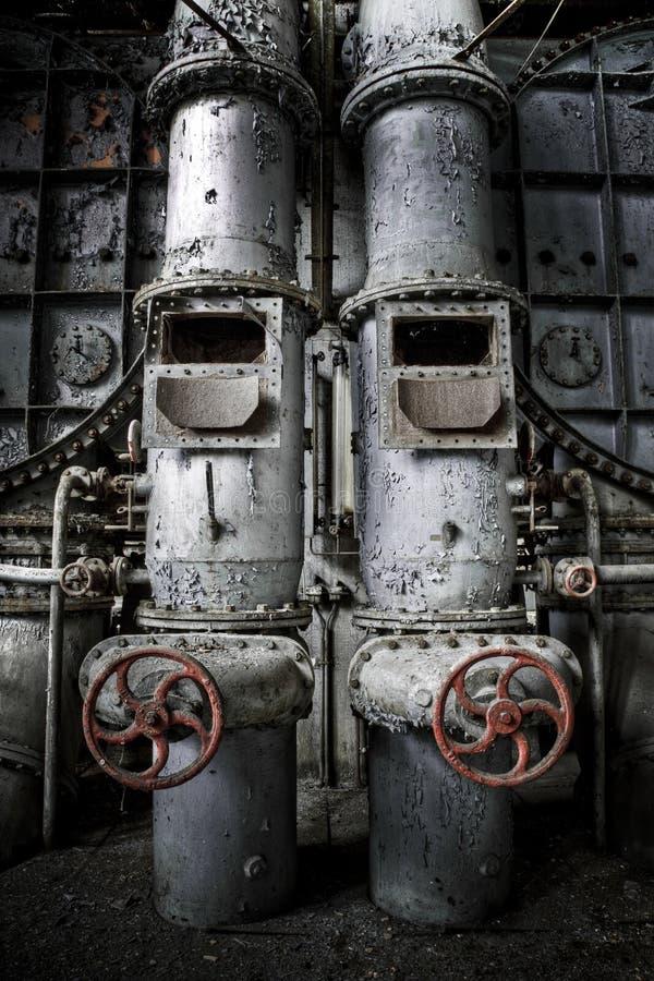 Tubos gemelos imágenes de archivo libres de regalías