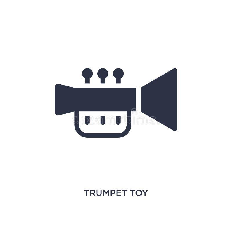 tubowa zabawkarska ikona na białym tle Prosta element ilustracja od zabawki pojęcia ilustracja wektor