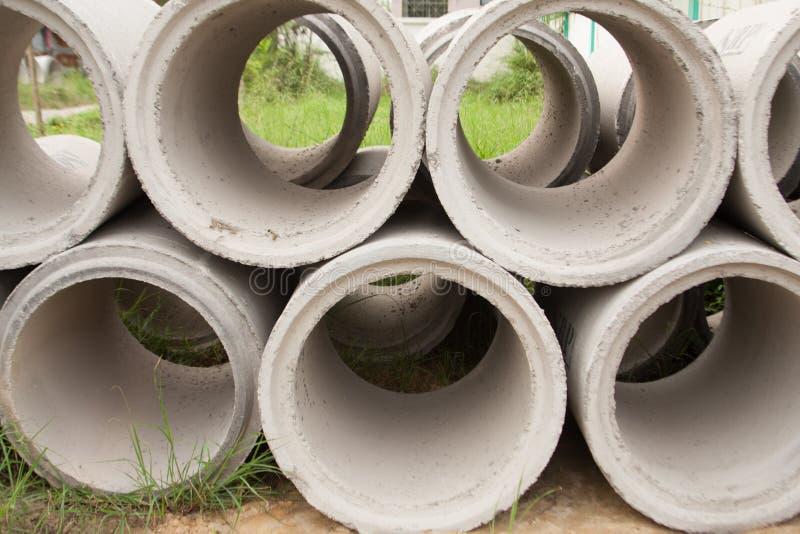Tubulação concreta. imagens de stock