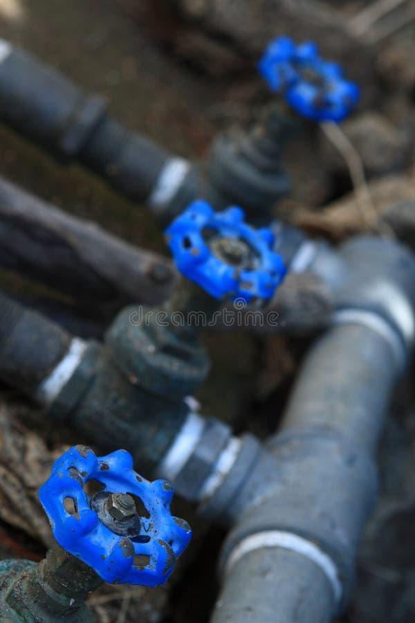 Tubulação de água fotografia de stock royalty free