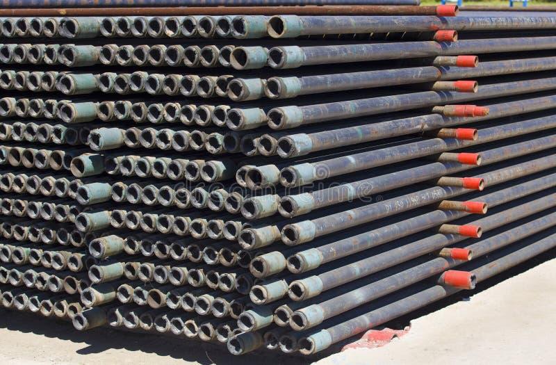 Tubulação de aço foto de stock royalty free