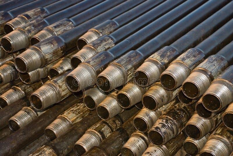 Tubulação de trabalho imagem de stock