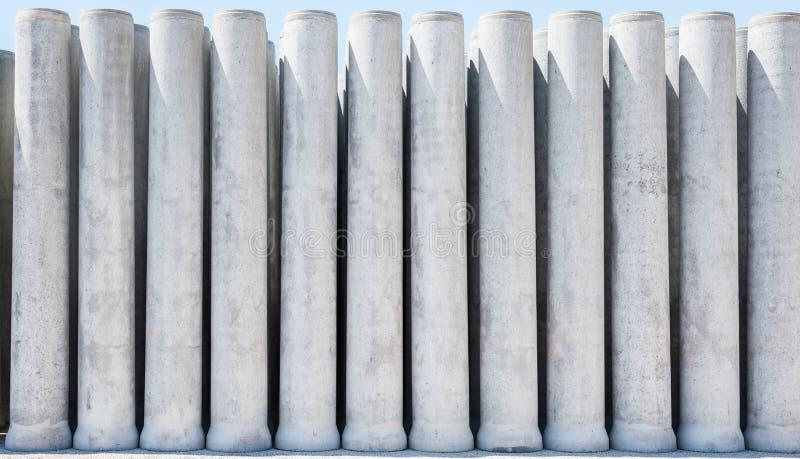 Tubulação do cimento imagem de stock
