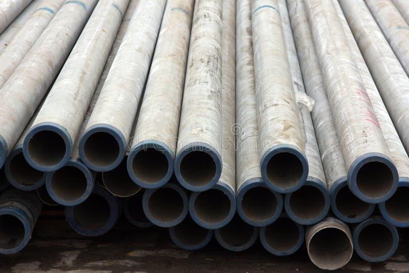 Tubulação do ferro foto de stock royalty free