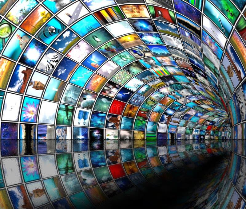 Tubulação dos media