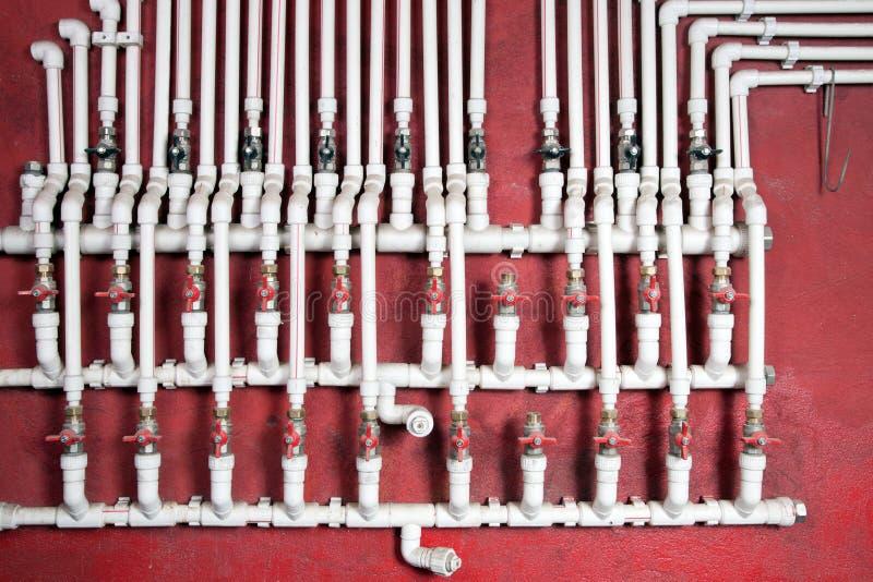 Tubulações de água imagens de stock royalty free