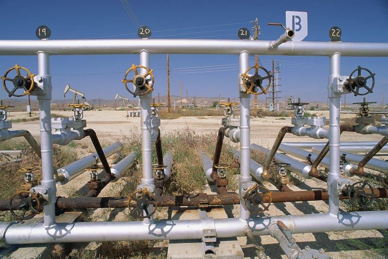 Tubulações De Petróleo Fotos de Stock