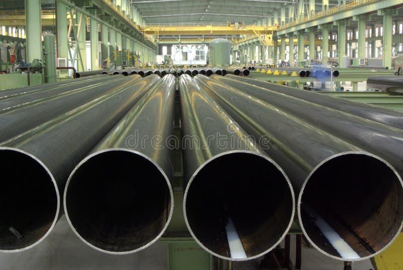 Tubulações longitudinais imagens de stock