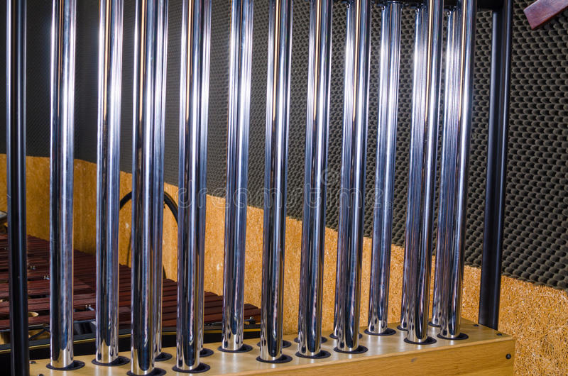 Tubular bells stock photography