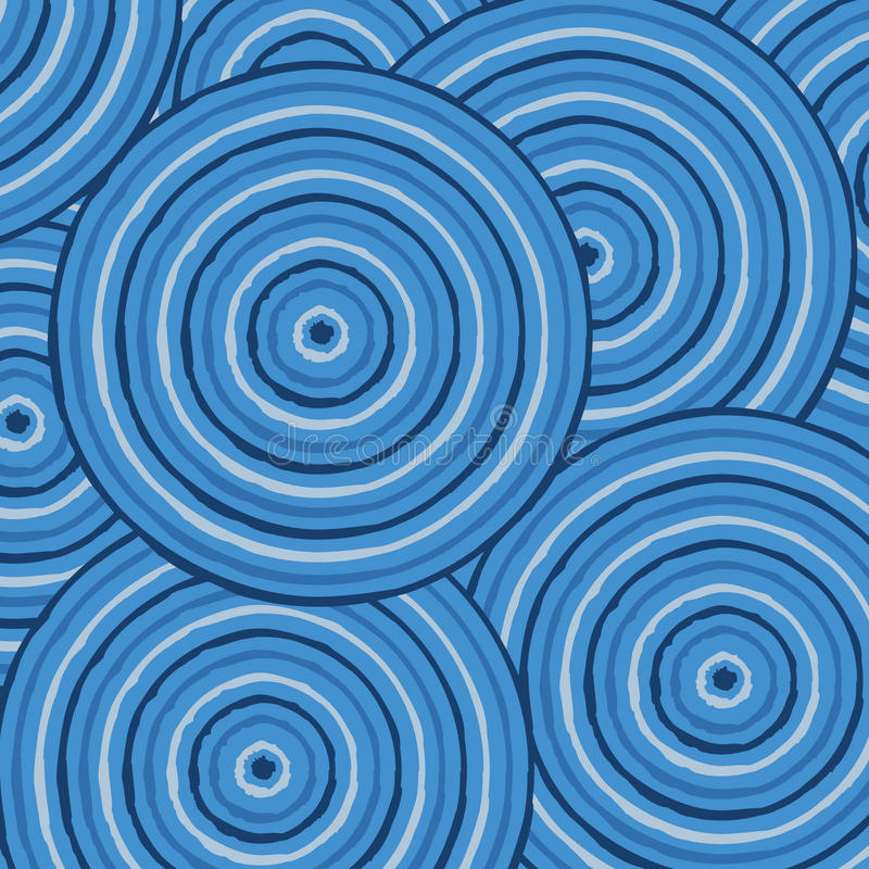 tubylcza abstrakcjonistyczna sztuka ilustracja wektor