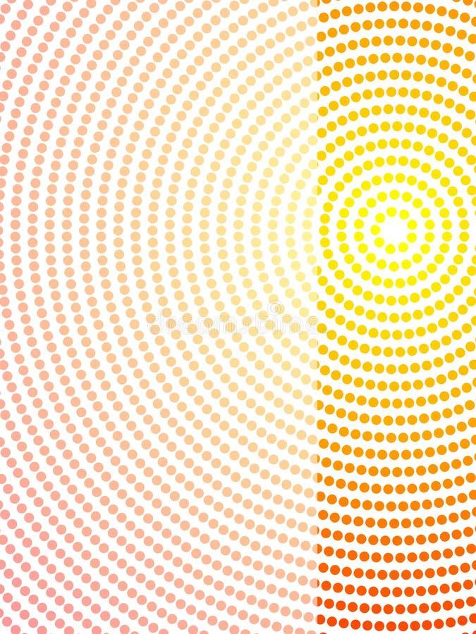 tubylczy abstrakcjonistyczny projekt ilustracji
