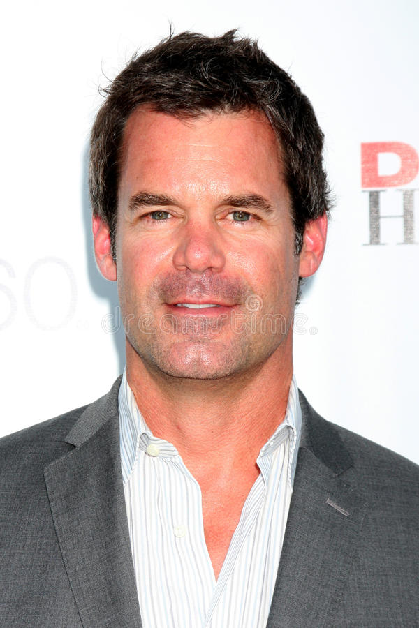 Tuc Watkins arrives at the