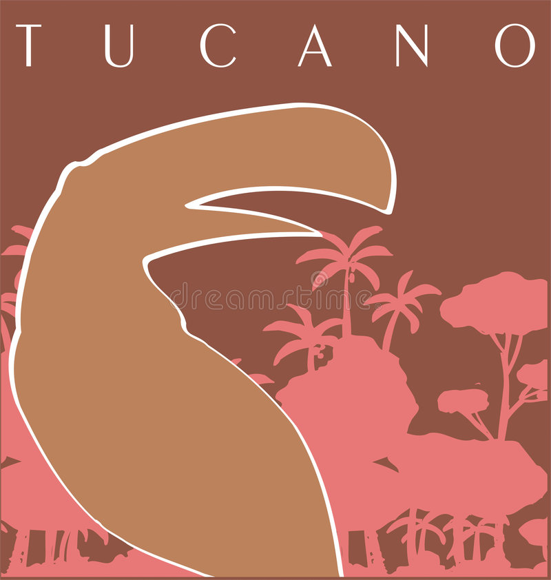 tucan stock illustrationer