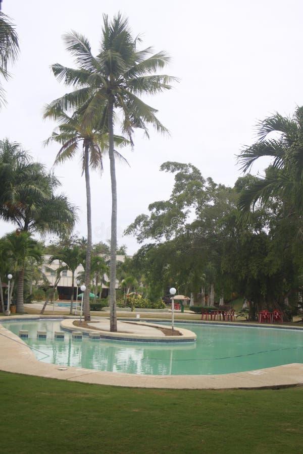 A tucked отсутствующий небольшой курорт в городе Teledo в провинции Cebu Филиппин стоковые фото
