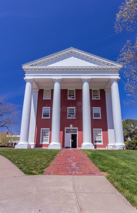 Tucker Hall à Washington et Lee University photographie stock