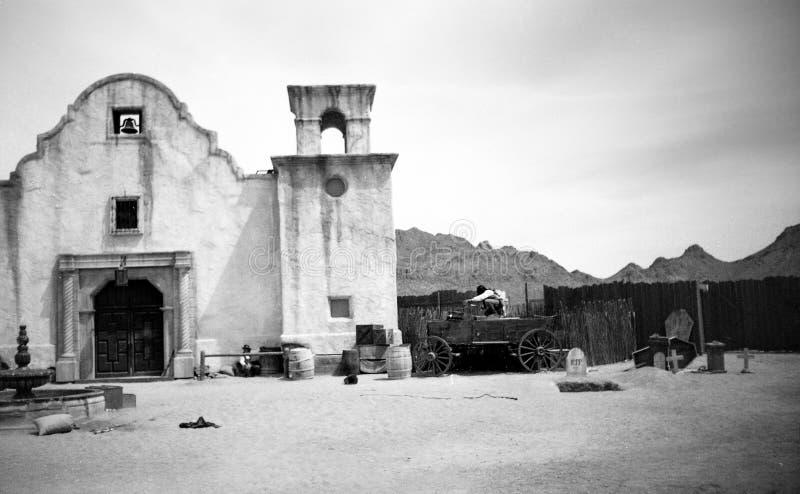 Tucson, AZ, Etats-Unis, vers 1998 - vieux studios de Tucson photographie stock