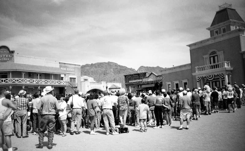 Tucson, AZ, Etats-Unis, vers 1998 - vieux studios de Tucson image stock