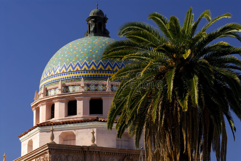 Tucson City Hall Dome royalty free stock images