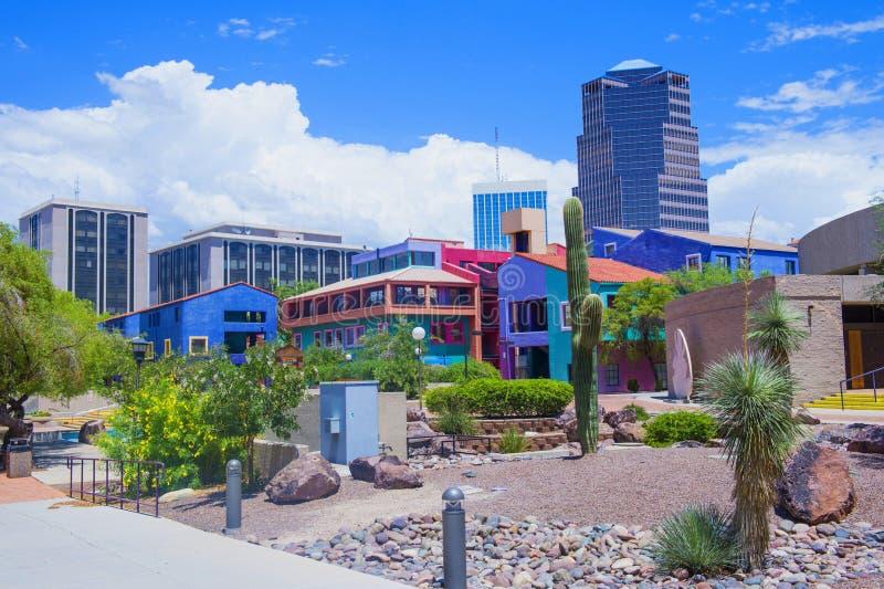 Tucson del centro fotografia stock