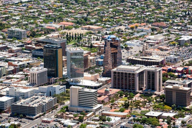 Tucson del centro immagine stock