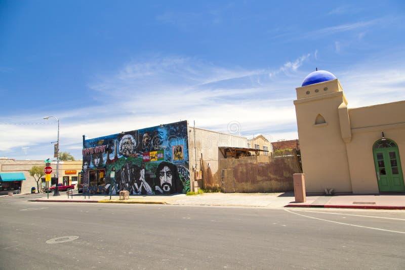 Tucson del centro, Arizona fotografia stock libera da diritti