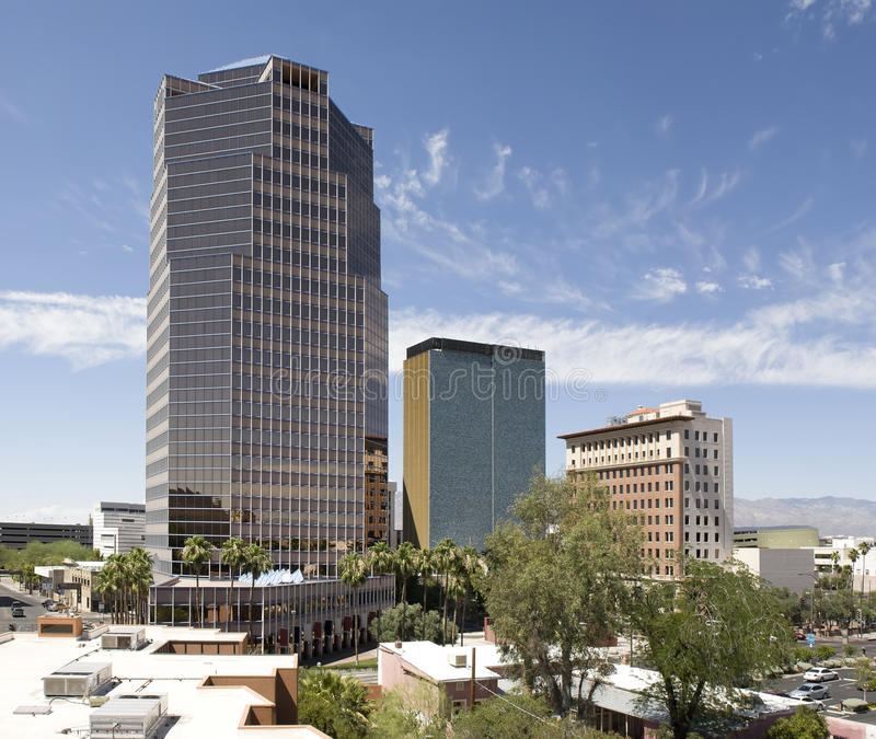 Tucson del centro Arizona fotografie stock