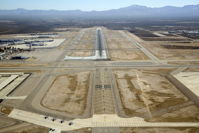 Tucson internationell flygplats arkivbild
