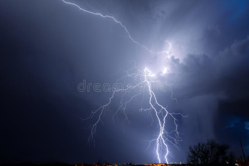 Tucson Lightning royalty free stock images