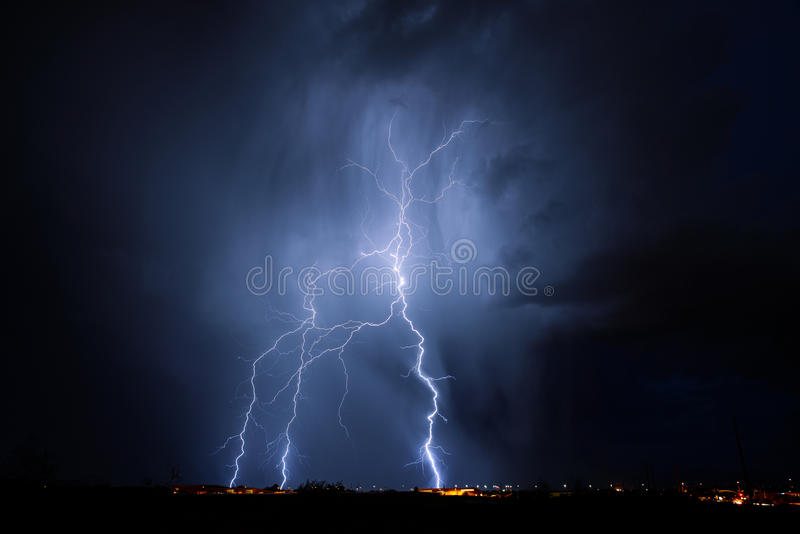 Tucson Lightning stock photography