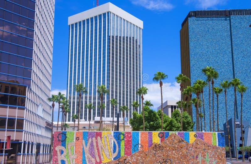 Tucson van de binnenstad royalty-vrije stock afbeelding