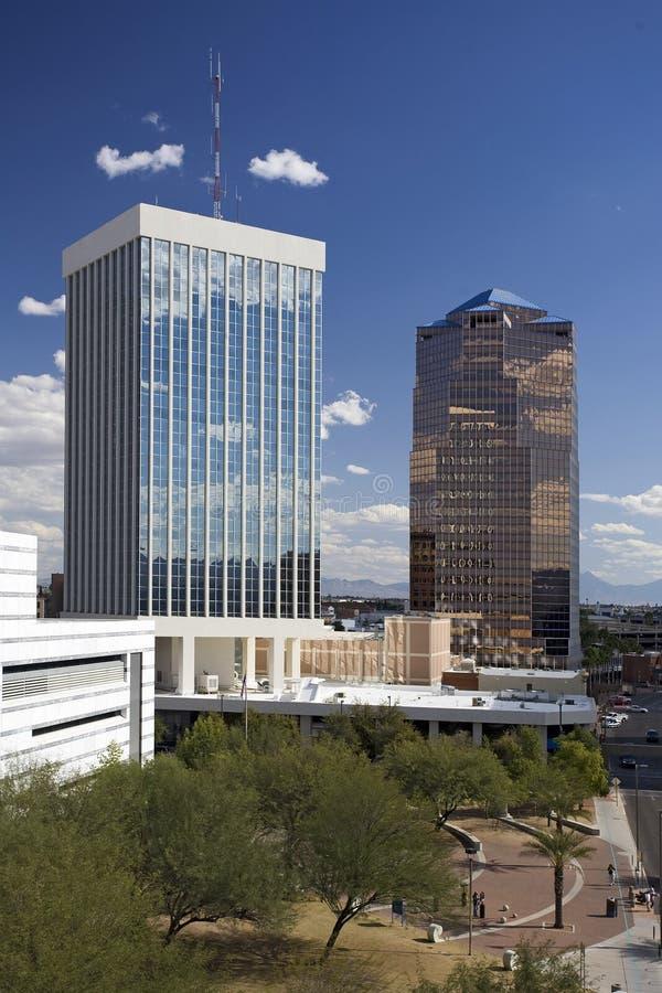 Tucson van de binnenstad stock afbeeldingen