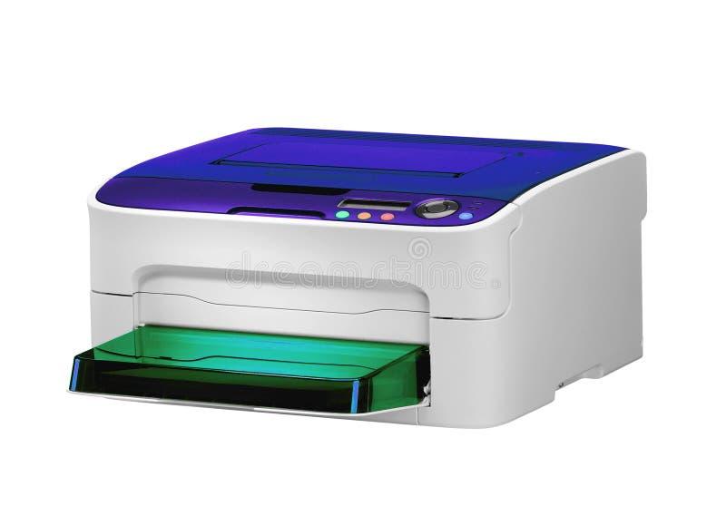 Tudo em um scaner da impressora imagem de stock