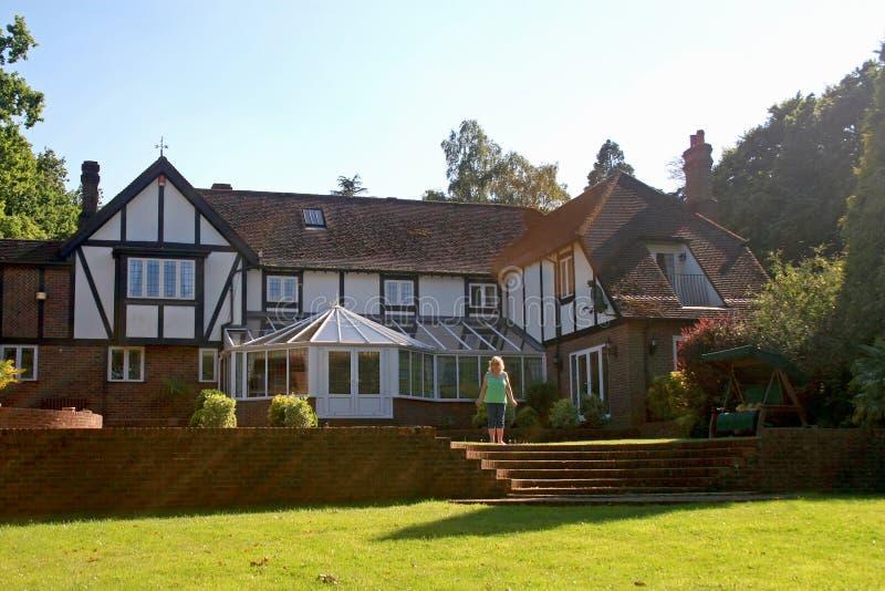Tudor之家 免版税库存照片