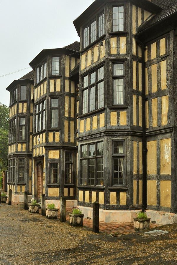 Tudor Architecture, Shrewsbury stock photos