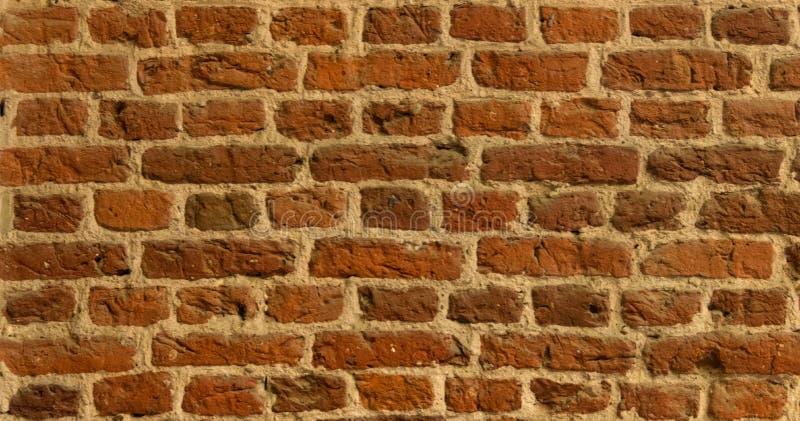 Tudor Brickwork i en vägg arkivfoto