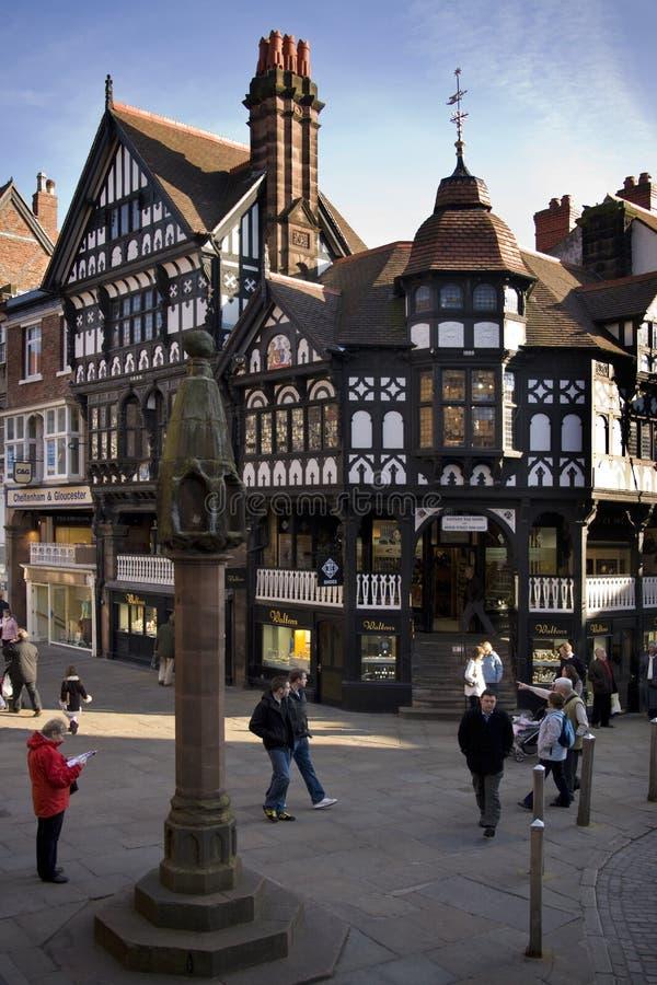 Tudor buildings - Chester - England