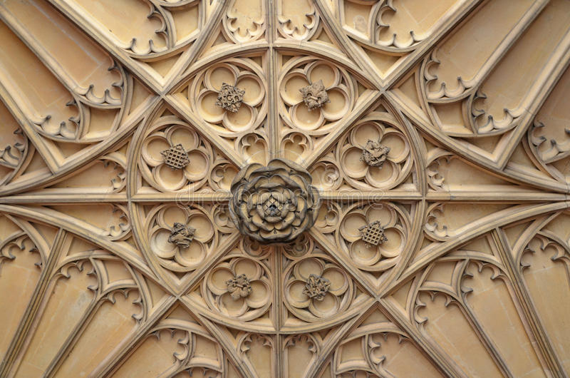 Tudor Ceiling royaltyfri fotografi