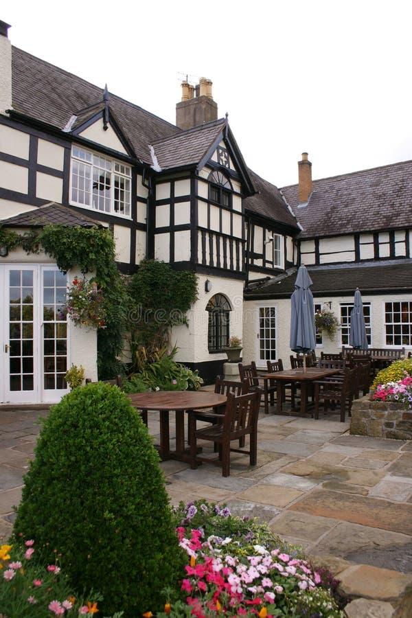 Tudor Courtyard 2 stock image