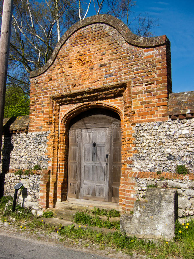 Download Tudor Gate stock image. Image of england, brick, traditional - 23193783