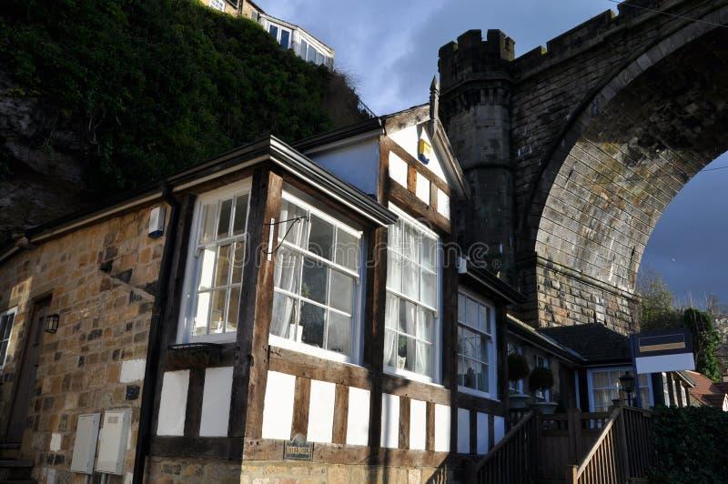 Download Tudor Home Near Bridge  England Stock Image - Image: 28595479